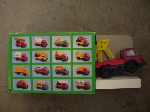 箱入外国製玩具車(裏)